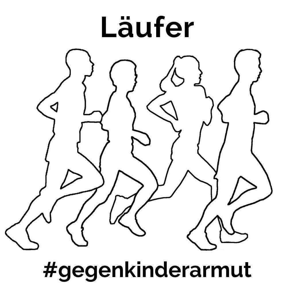 läufer gegen kinderarmut